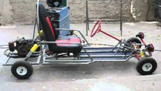 HOMEMADE shifter kart build 5 speed (day-1) Free Download Video MP4
