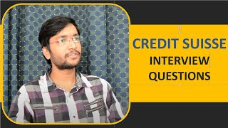 Download Credit Suisse Interview Questions and Useful Tips Video