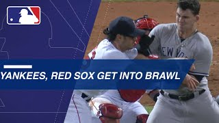 Download Benches clear twice between Yankees, Red Sox Video