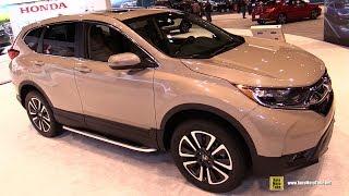 Download 2017 Honda CRV EX - Exterior and Interior Walkaround - 2017 Chicago Auto Show Video