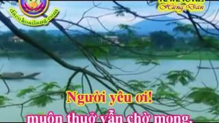 Download Karaoke Tan co - Thuong ve mien trung - HD.avi Video