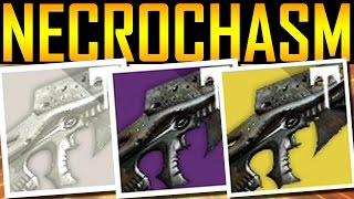 Download Destiny - HOW TO GET NECROCHASM! YEAR 3! Video