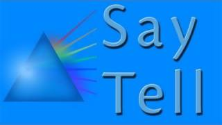 Download Say Tell | Learn English | Linguaspectrum Video