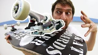Download SUPER CRAZY SURF SKATEBOARD TRUCK MOUNT! | THE WATERBORNE SURF SKATEBOARD Video