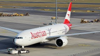 Download Evening Plane Spotting at Vienna Airport | 777s 747 767 A320NEO & More Video