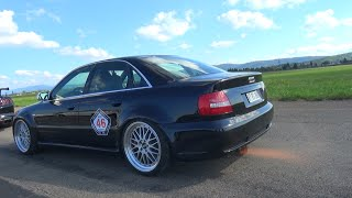 Download INSANE 1088HP Audi S4 B5 - Anti-Lag FLAMES & Accelerations! Video
