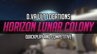 Download [Horizon Lunar Colony] DVA Ult Locations - For Quick play and competitive! Video