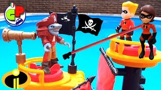 Download Gli Incredibili 2 e la nave dei pirati Cartone animato e giocattoli Video