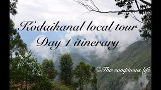 Download Kodaikanal places to see | Local sightseeing day 1 itinerary Video