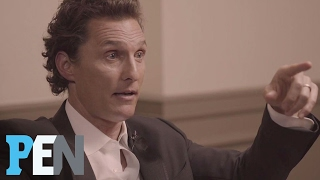 Download Matthew McConaughey Talks About The Night He Met Wife Camila | PEN | People Video