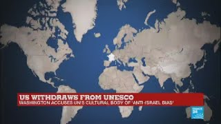 Download UNESCO reacts to US withdrawal amid accusations of 'anti-Israel bias' Video