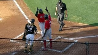 Download 3/28/17: Betts drives in four to lead Red Sox to win Video