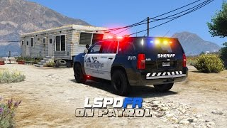 GTA 5 LSPDFR - New Urban Sheriff Skin Pack Free Download Video MP4