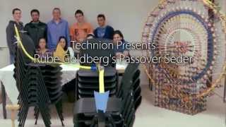 Download Passover Pesach 2015 Seder Rube Goldberg Machine from Technion in Israel Video