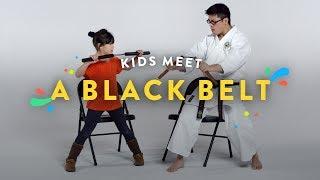 Download Kids Meet a Black Belt   Kids Meet   HiHo Kids Video