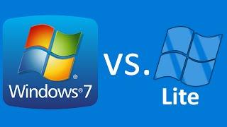 Download Windows 7 vs. Windows 7 LITE Video