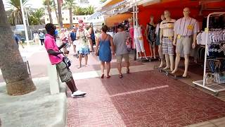 Download Blacks selling fake stuff in Tenerife Video