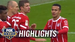 Download Bayern Munich takes early lead over Mainz | 2017-18 Bundesliga Highlights Video