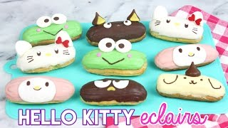 Download How to Make Hello Kitty Eclairs! Video