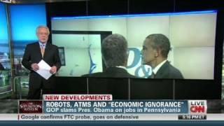 Download CNN: President Obama talks jobs, technology Video