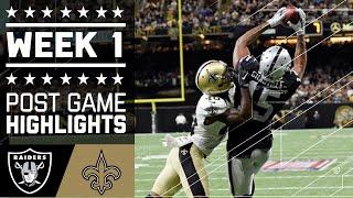 Download #3 Raiders vs. Saints | NFL Week 1 Game Highlights Video