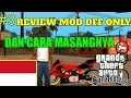Download MOD NINJA DFF ONLY - GTA SA ANDROID & CARA MASANGNYA Video