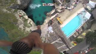 Download Spider - Cliff Diving at Rick's Cafe, Negril, Jamaica Video