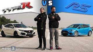 Download Honda Civic Type R vs. Ford Focus RS | Drag & Rolling Yarışı ! Video