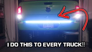 Download LED Tailgate Light Bar INSTALL!! *Super BRIGHT* Video