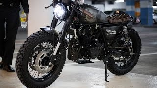 Download GPX Legend 200 - Custom cafe & tracker style Video