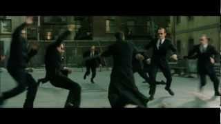 Download Matrix Reloaded (Music scene) - Burly Brawl - Neo vs Smiths Video