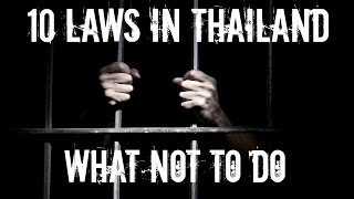 Download 10 LAWS IN THAILAND TO BE AWARE OF! Video