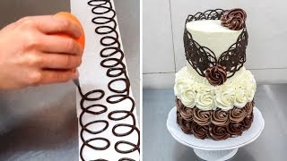 Download Chocolate Decoration Cake - Decorando con Chocolate by Cakes Step by Step Video