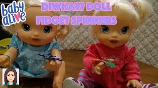 Download DIWhat? Doll Fidget Spinners (Ft. Mallerie & Charlotte) Video