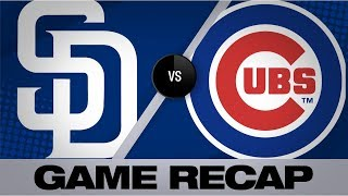 Download Tatis' 3 RBIs, Quantrill lead Padres | Padres-Cubs Game Highlights 7/21/19 Video