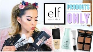 Download Full Face Using ONLY Elf Cosmetics Products! Video