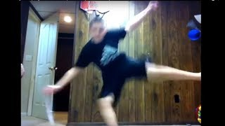 Download Kids Falling Attempting To Levitate Compilation Video