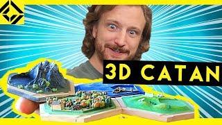 Download Niko's Homemade 3D Settlers of Catan Set! Video