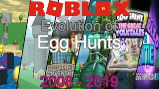 Download Evolution of Egg Hunts 2008-2019 | Roblox Video