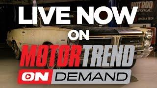 Download TEASER! Ultimate Road Trip Build: Bare Frame to Driver in 2 Days! - Hot Rod Garage Ep. 52 Video