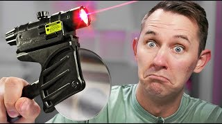 Download Laser Pizza Slicer?! | 10 Ridiculous Tech Items Video