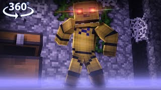 Download 360° Five Nights At Freddy's - GOLDEN FREDDY VISION - Minecraft 360° Video Video