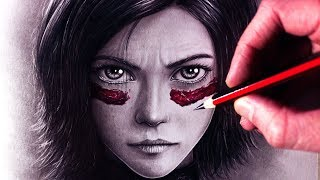 Download Let's Draw ALITA: BATTLE ANGEL - FAN ART FRIDAY Video
