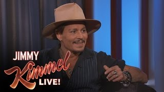 Download Johnny Depp was a Telemarketer Video
