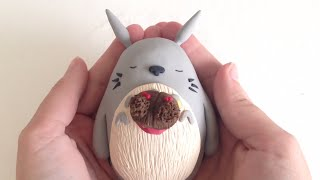 Download Totoro and Mei Figurine DIY Video