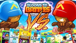 Download BLOONS CARD BATTLE 1VS1 *BEST STRATEGY EVER* - BLOONS TOWER DEFENSE BATTLES! Video