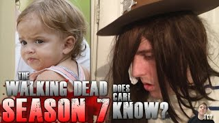 Download The Walking Dead Season 7 – Does Carl Know About Judith? Video