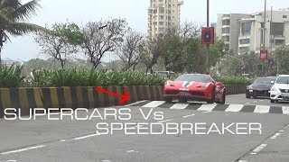 Download Supercars Vs Speedbreaker | Mumbai | India Video