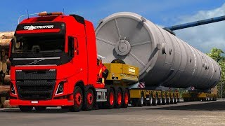 Download [1.30] Euro Truck Simulator 2 | Big Special Transport | Mods Video