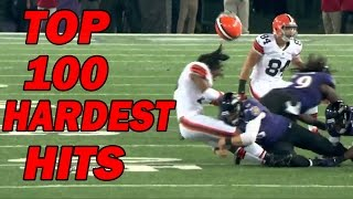 Download Top 100 Hardest Football Hits of All-Time Video